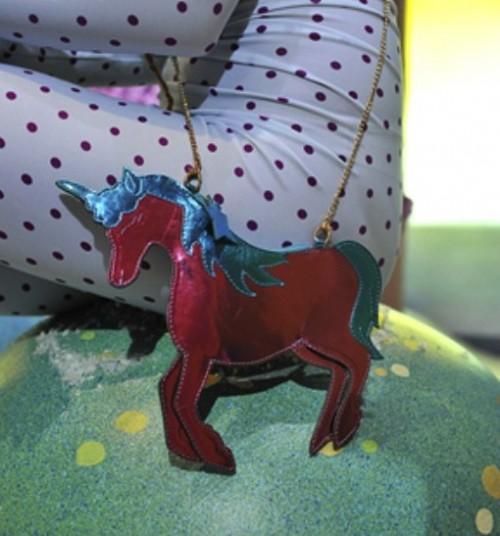 Sophia Webster Fall 2013 unicorn purse 3