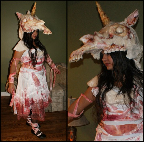 zombie_unicorn_halloween_costume_2012_by_scenceable-d5l64jx