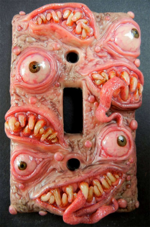 halloween-monster-light-switch-plates
