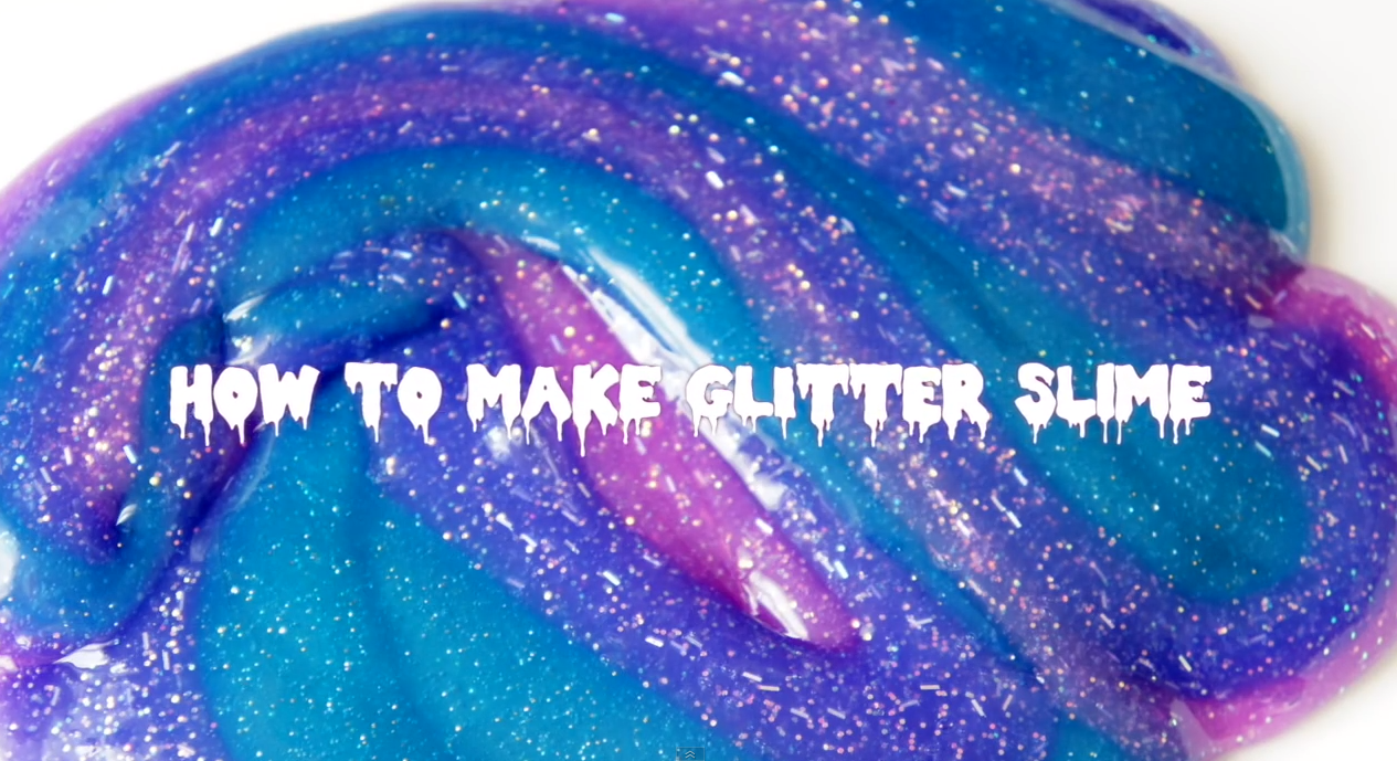 ho to make glitter galaxy slime rainbowzombiesatemyunicorn. Black Bedroom Furniture Sets. Home Design Ideas